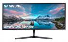 "Монитор Samsung 34"" S34J550WQI VA LED изогнутый 21:9 3440x1440 4ms 300cd 3000:1 178/ 178 2*HDMI DP Black (LS34J550WQIXCI)"