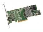 Контроллер LSI00462 LSI MegaRAID SAS9361-8I (PCI-E 3.0 x8, LP) SGL SAS 12G, RAID 0,1,10,5,6, 8port (2*intSFF8643),2GB onboard, Каб.отдельно