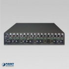 "MC-1610MR шасси для медиа конвертеров 19"" 16-slot SNMP Managed Media Converter Chassis (AC Power) with redundant power o .... (MC-1610MR)"