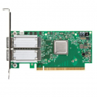 Сетевая карта Infiniband ConnectX®-5 Ex VPI adapter card, EDR IB (100Gb/ s) and 100GbE, dual-port QSFP28, PCIe4.0 x16, t .... (MCX556A-EDAT)