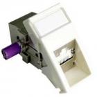 Угловая розеточная вставка 22.5 x 45мм, экранированный модуль PowerCat DataGate™ RJ45 568A/ B категория 6A - белая (MLG-00030-02)