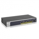 Мультигигабитный WEB-управляемый 10 портовый PoE коммутатор. Порты: 4*1G; 2*1G/ 2.5G; 2*1G/ 2.5G/ 5G; 1*1G/ 2.5G/ 5G/ 10 .... (MS510TXPP-100EUS)