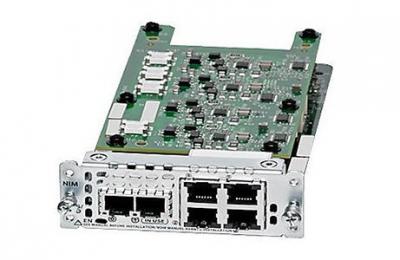 NIM-2FXS/ 4FXOP= Модуль 2-Port FXS/ FXS-E/ DID and 4-Port FXO Network Interface Module (NIM-2FXS/ 4FXOP=)