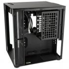 Корпус для ПК без блока питания Aluminum PC case Lian Li PC-O8SWX, 4x USB 3.0, Tempered glass, Black (PC-O8SWX)