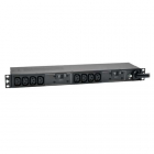 7.4kW Single-Phase 230V Basic PDU, 10 C13 Outlets, IEC 309 32A Blue Input, 3.6 m Cord, 1U Rack-Mount (PDUH32HV)