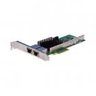 Сетевая карта Silicom PE310G2i50-T Dual Port Copper 10 Gigabit Ethernet PCI Express Server Adapter X4 Gen 3.0, Based on .... (PE310G2I50-T)