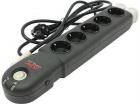 Сетевой фильтр PM5B-RS APC Essesntial SurgeArrest 5 Oultets 230V, Black (PM5B-RS)