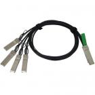 QSFP-4SFP10G-CU1M= Кабель QSFP to 4xSFP10G Passive Copper Splitter Cable, 1m (QSFP-4SFP10G-CU1M=)