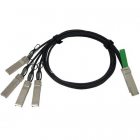 QSFP-4SFP10G-CU3M= Аксессуар QSFP to 4xSFP10G Passive Copper Splitter Cable, 3m (QSFP-4SFP10G-CU3M=)