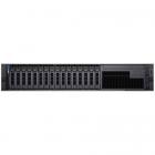 Сервер DELL PowerEdge R740 2U/ 16SFF/ 1x4210 (10-Core, 2.2 GHz, 85W)/ 1x16GB RDIMM/ 730P mC/ 16x960GB MU SATA/ 4xGE/ 1x7 .... (R740-4364-01)