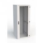 19'' RI7 напольный шкаф, высота 33U, ширина 600, глубина 600, спереди стеклянная дверь, сзади металлическая стенка (RI7-33-60/ 60-B)
