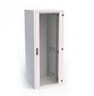 19'' напольный шкаф, высота 48U, ширина 600, глубина 800, стандартная комплектация, цвет черный (RI7-48-60/ 80-H)