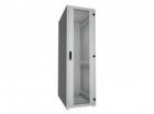 """19 """"стойка данных 27U, 600x800 мм, передняя стеклянная дверь, задняя панель с модулем, без пластин (RSF-27-60/ 8A-GVRUA-0XA-H)"""