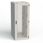 Шкаф серверный напольный 19' серии RSF, 48U, 600мм, глубина 1200 мм. конфигурация: - спереди: дверь одностворчатая вент .... (RSF-48-60/ 12A-WWFWA-2EF-H)