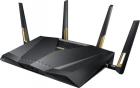 ASUS RT-AX88U / / роутер 802.11b/ g/ n/ ac, ax, до 1148 + 4804Мбит/ c, 2, 4 + 5 гГц, 4 антенны, USB, GBT LAN ; 90IG04F0- .... (RT-AX88U)