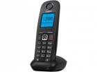 Беспроводной телефон DECT S30852-H2607-S303 Gigaset A540 IP DECT/GAP + SIP (комплект из базы и трубки, монохромный дисплей, цвет - черный)'