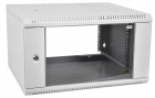 Шкаф телекоммуникационный настенный разборный 18U (600х520) дверь стекло (ШРН-Э-18.500)