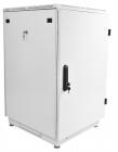 Шкаф телекоммуникационный напольный 18U (600x800) дверь металл (2 места) (ШТК-М-18.6.8-3ААА)