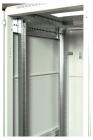 Шкаф телекоммуникационный напольный 22U (600x1000) дверь стекло (3 места) (ШТК-М-22.6.10-1ААА)