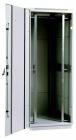 Шкаф телекоммуникационный напольный 38U (800x1000) дверь стекло (ШТК-М-38.8.10-1ААА)