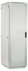 Шкаф телекоммуникационный напольный 42U (600 1000) дверь перфорированная (ШТК-М-42.6.10-4ААА)
