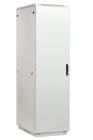 Шкаф телекоммуникационный напольный 42U (600x600) дверь металл (3 места) (ШТК-М-42.6.6-3ААА)