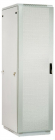Шкаф телекоммуникационный напольный 42U (600x600) дверь перфорированная 2 шт. (ШТК-М-42.6.6-44АА)