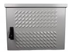 Шкаф уличный всепогодный настенный 12U (Ш600хГ300), передняя дверь вентилируемая (ШТВ-Н-12.6.3-4ААА)