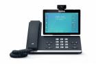 Телефон sip YEALINK SIP-T58A with camera, видеотерминал, Android, WiFi, Bluetooth, GigE, CAM50 в комплекте, без БП, шт (SIP-T58A WITH CAMERA)