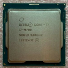 Процессор CPU Intel Core i7-9700 (3.0GHz/ 12MB/ 8 cores) LGA1151 OEM, UHD630 350MHz, TDP 65W, max 128Gb DDR4-2466, CM806 .... (SRG13)