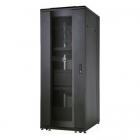 """Шкаф напольный ServerMAX 19"""" 26U 600x1000, передняя дверь одностворчатая перфорированная, задняя дверь двустворчатая пер .... (SRV26UBF1R1)"""