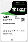 Жесткий диск HDD SAS Seagate 14Tb, ST14000NM002G, Exos X16, 7200 rpm, 256Mb buffer (ST14000NM002G)
