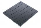 Полка перфорированная, глубина 1000 мм, цвет черный (СВ-100-9005) (СВ-100-9005)