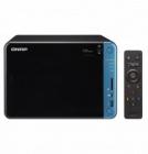 Сетевое хранилище без дисков SMB QNAP TS-653B-4G NAS, 6-tray w/ o HDD. 2xHDMI-port. Quadcore Intel Celeron J3455 1.5 GHz .... (TS-653B-4G)