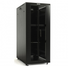 Hyperline TTB-2261-DD-RAL9004 Шкаф напольный 19-дюймовый, 22U, 1166x600х1000 мм (ВхШхГ), передняя и задняя распашные пер .... (TTB-2261-DD-RAL9004)
