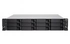 Сетевое хранилище без дисков SMB QNAP TVS-1272XU-RP-i3-4G 12-Bay NAS, Intel Core i3-8100 4-core 3.6 GHz, 4 GB UDIMM DDR4 .... (TVS-1272XU-RP-i3-4G)