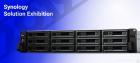 Система хранения данных Synology Rack 2U ISCSI DialCont Array (QC2, 4GhzCPU/ 8Gbupto64/ 2x1GbE+1x10GbE(+1xExpSlot) per c .... (UC3200)