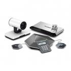 Система видеоконференцсвязи Yealink VC120 в комплекте с 12-кратной HD камерой, конференц-телефоном VCP41 и двумя микрофо .... (VC120-12X-VCP41)