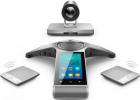 Система видеоконференцсвязи Yealink VC800 в комплекте с 12-кратной FullHD 1080P@60 камерой, конференц-телефоном CP960, д .... (VC800-CP960-WP)
