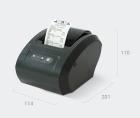 Фискальный регистратор (принтер чеков) Вики Принт 57 плюс Ф со встроенным ФН 15 мес.