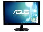"""Монитор ASUS 18.5"""" VS197DE LED, 1366x768, 5ms, 200cd/m2, 90°/65°, 50M:1,D-Sub, регулировка наклона, Black, 90LMF1001T02201C-"""