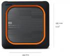 """Внешний SSD WD My Passport Wireless SSD WDBAMJ0010BGY-RESN 1ТБ 2, 5"""" USB 3.1/ WiFi, разъём для SD карт(E6B) (WDBAMJ0010BGY-RESN)"""