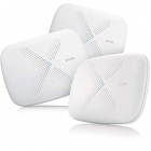Маршрутизатор ZYXEL WSQ50 Multy X WiFi System (Pack of 3), AC3000 Tri-Band WiFi , AC Wave2, MU-MIMO, 802.11a/ b/ g/ n/ a .... (WSQ50-EU0301F)