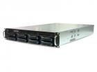 "Серверный корпус RSC-2KT, 2U, 8xSATA/ SAS HS 3.5/ 2.5"" universal bay, 2x 2.5"" internal bay, up to 12""(W) x 13""(D) E-ATX, .... (XE1-2KT00-08)"