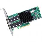 Сетевая карта Intel Ethernet Server Adapter XL710-QDA2 40Gb Dual Port, QSFP+, transivers no included (bulk) (XL710QDA2BLK)